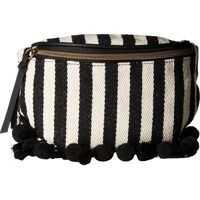 Borsete Stripes and Tassel Fanny Pack Femei
