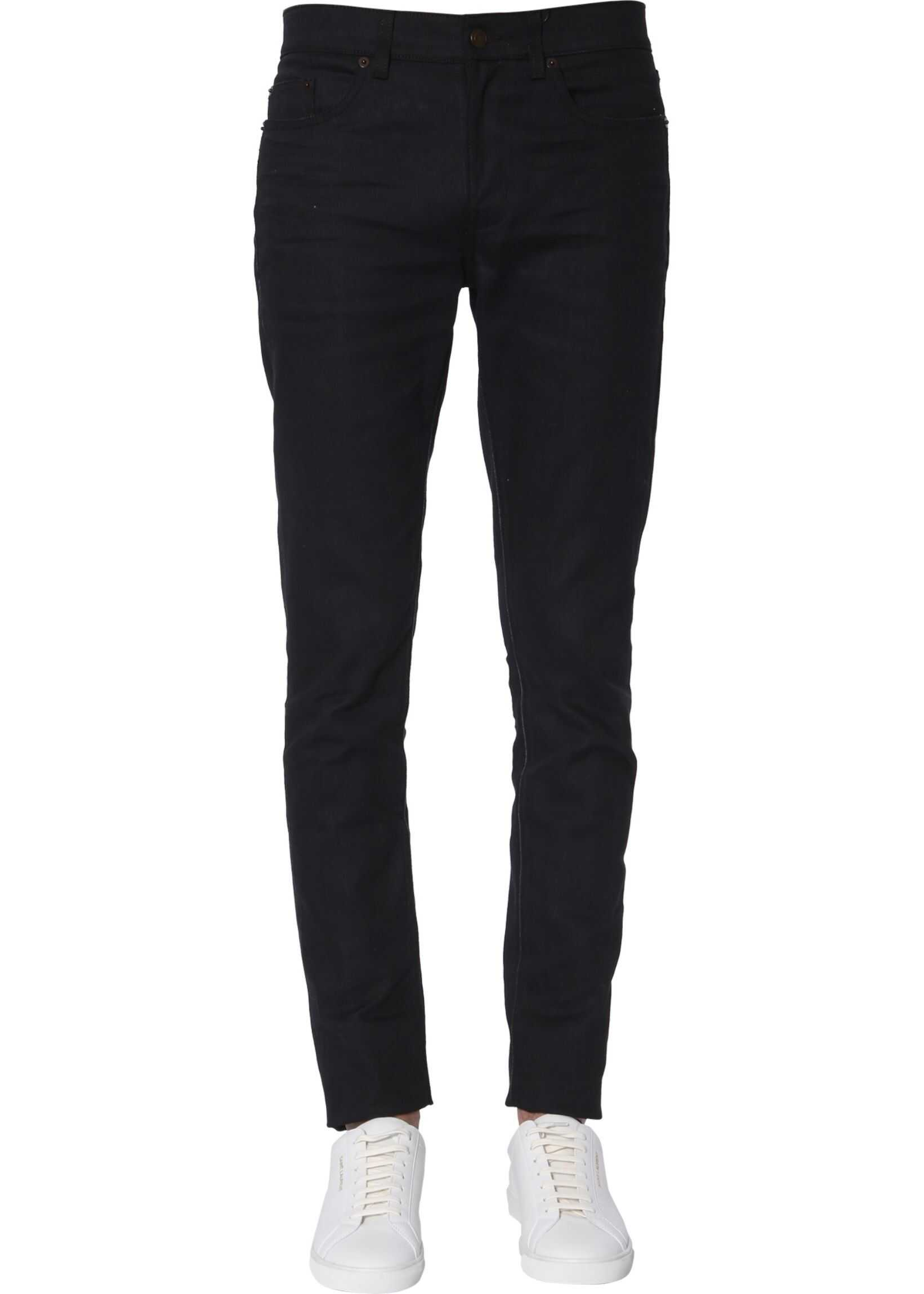 Saint Laurent Low Waist Jeans BLACK