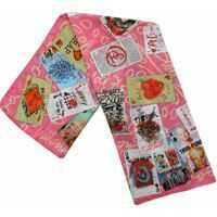 Esarfe Pink Playing Cards Foulard Femei