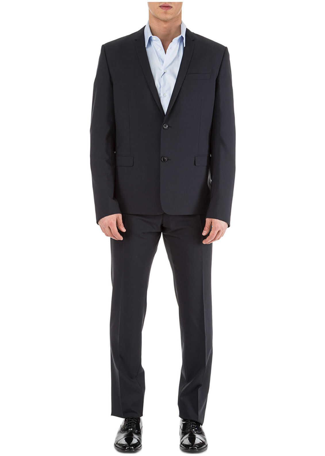 Dior Suit Blue