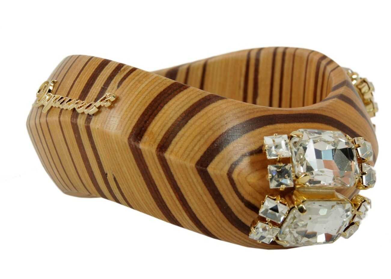 DSQUARED2 Wooden Bracelet BROWN