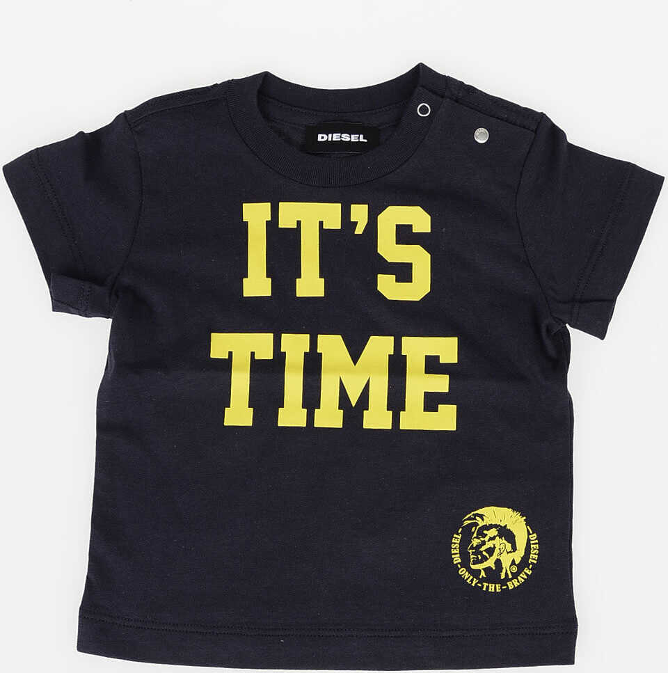 It's Time Printed TILLOB T-shirt