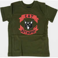 Tricouri Cat TICSOB-R T-SHIRT Fete