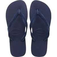 Slapi Top Unisex Flip Flops In Navy Blue Barbati