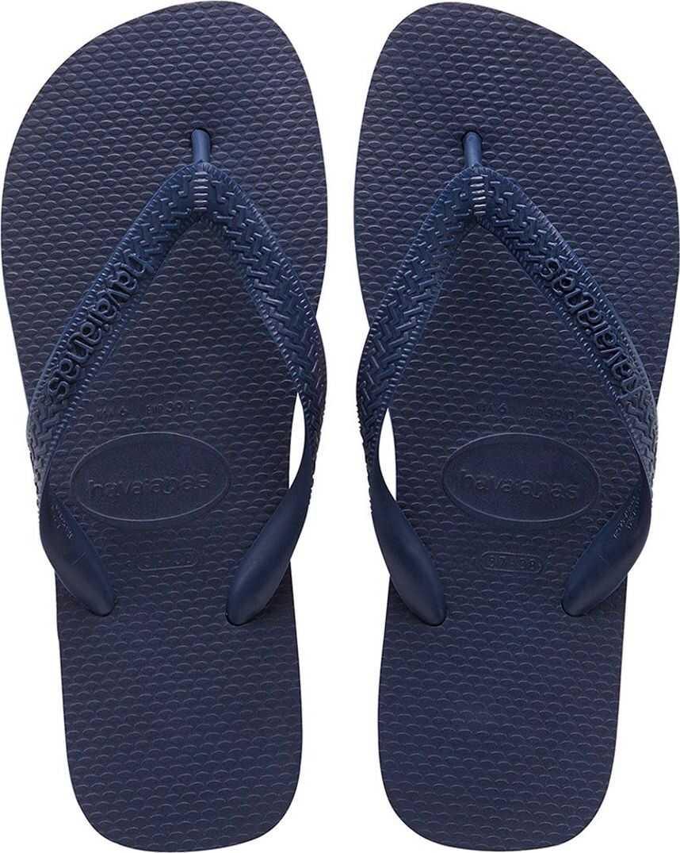 Havaianas Top Unisex Flip Flops In Navy Blue Blue