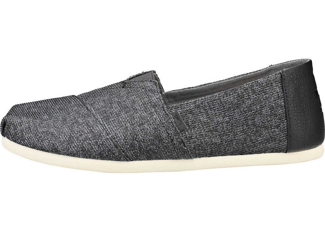 TOMS Classic Shade Technical Knit Slip On In Black Black