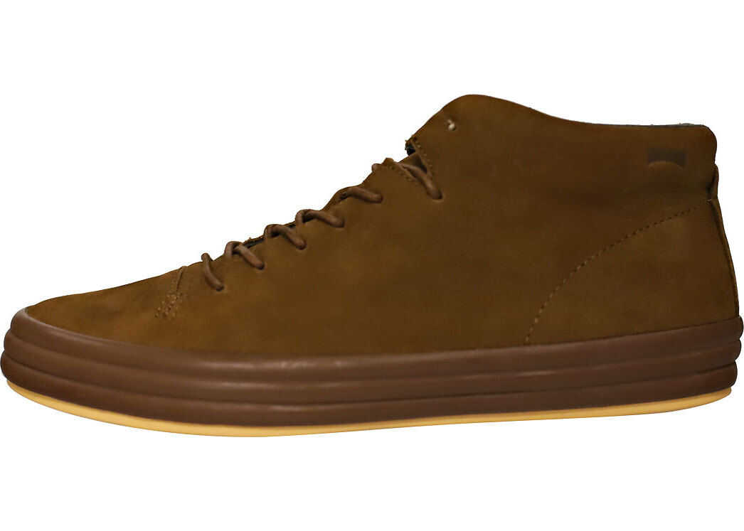 Camper Hoops Chukka Boots In Brown Brown