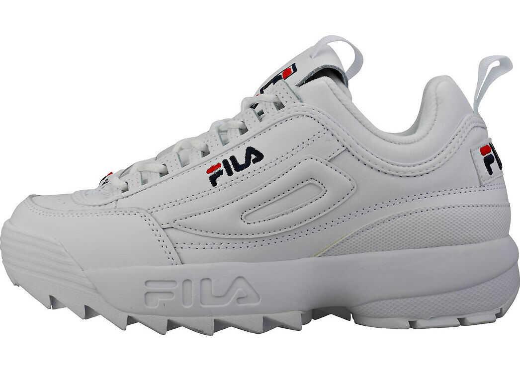 Fila Disruptor 2 Premium Trainers In White White