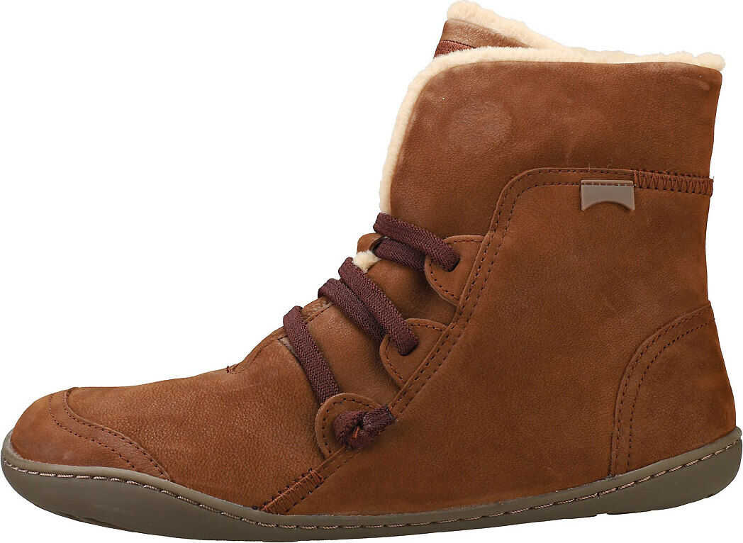Camper Peu Cami Ankle Boots In Brown Brown