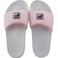 Slapi Drifter Terry Slide In White Pink Femei