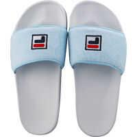 Slapi Drifter Terry Slide In White Blue Femei