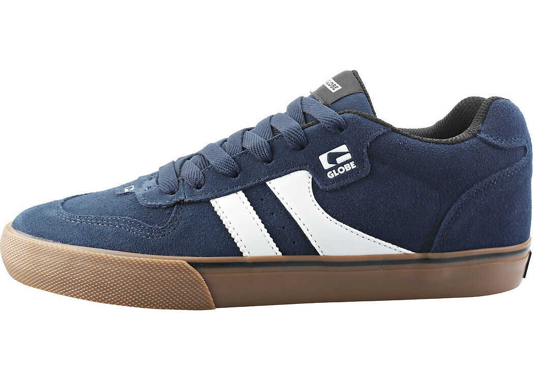 Globe Encore 2 Trainers In Navy Gum Blue
