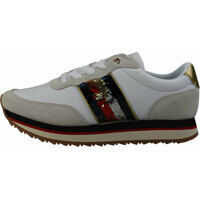 Tenisi & Adidasi Tommy Hilfiger Sequins Retro Trainers In White