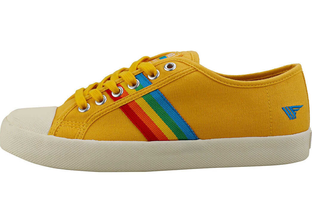 Gola Coaster Trainers In Sun Multicolour Yellow