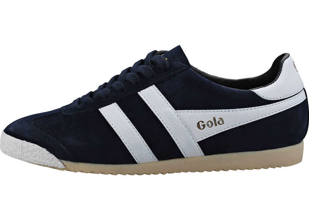Gola Harrier 50 Trainers In Navy White Blue
