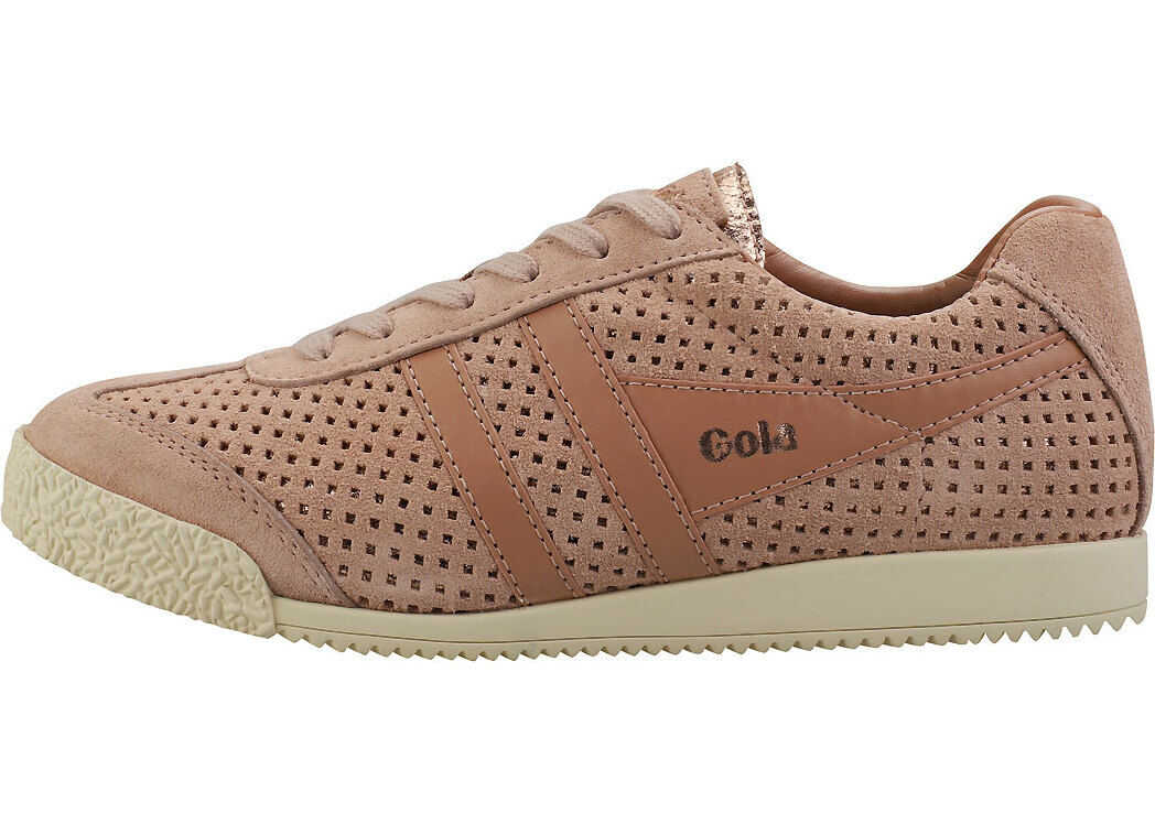 Gola Harrier Glimmer Trainers In Blush Pink Pink