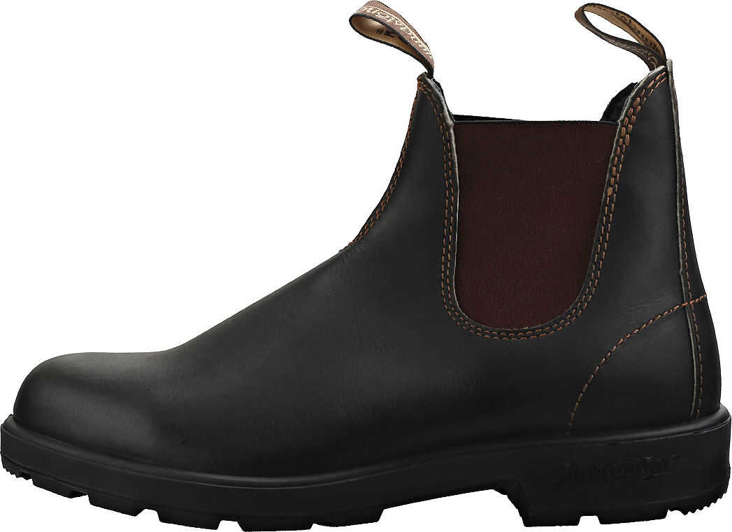 Blundstone 500 Chelsea Boots In Stout Brown Brown