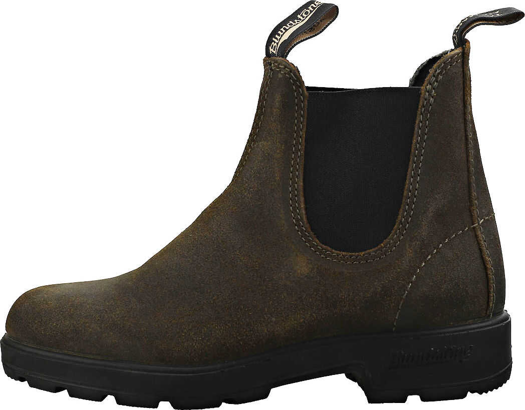 Blundstone 1615 Chelsea Boots In Dark Olive Green