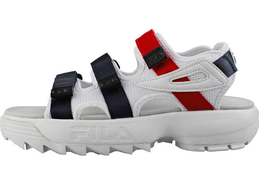 Sandale Dama Fila Disruptor Sandal Sandals In White Navy Red