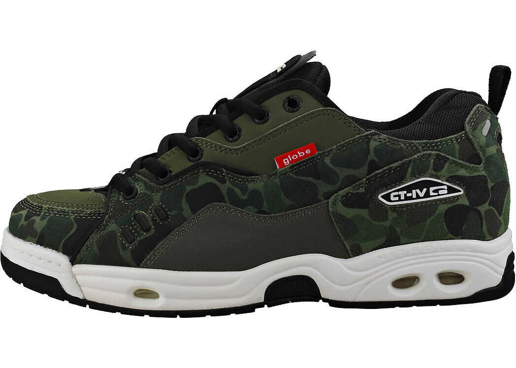 Globe Ct-Iv Classic Trainers In Camouflage Green