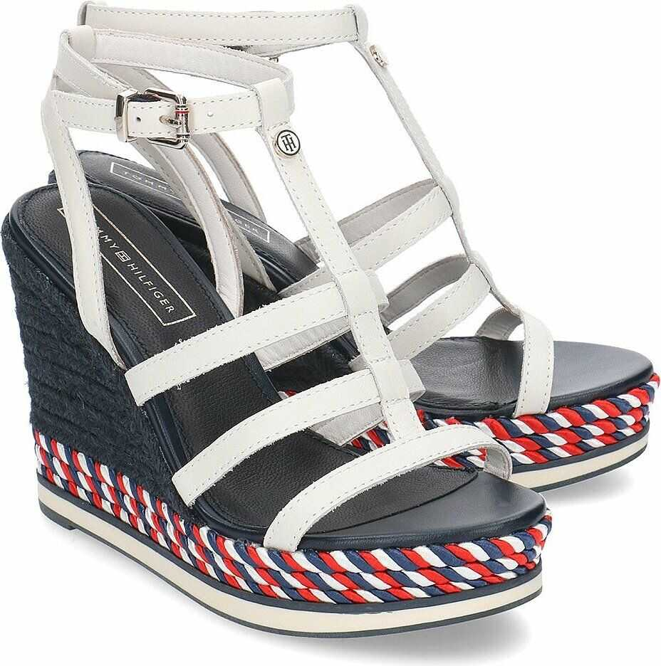 Tommy Hilfiger Colorful Rope Wedge Biały