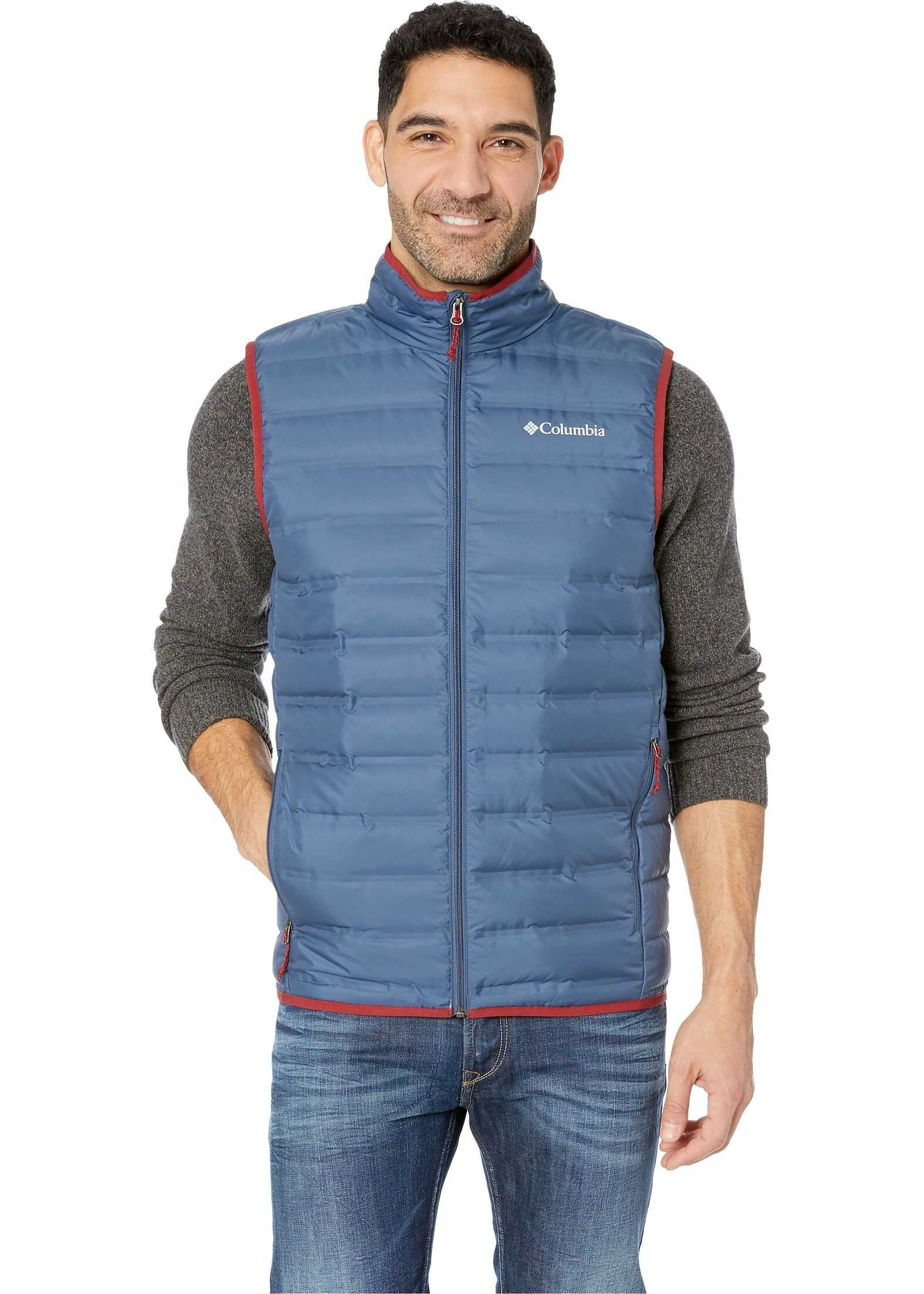 Columbia Lake 22 Down Vest Dark Mountain/Red Element