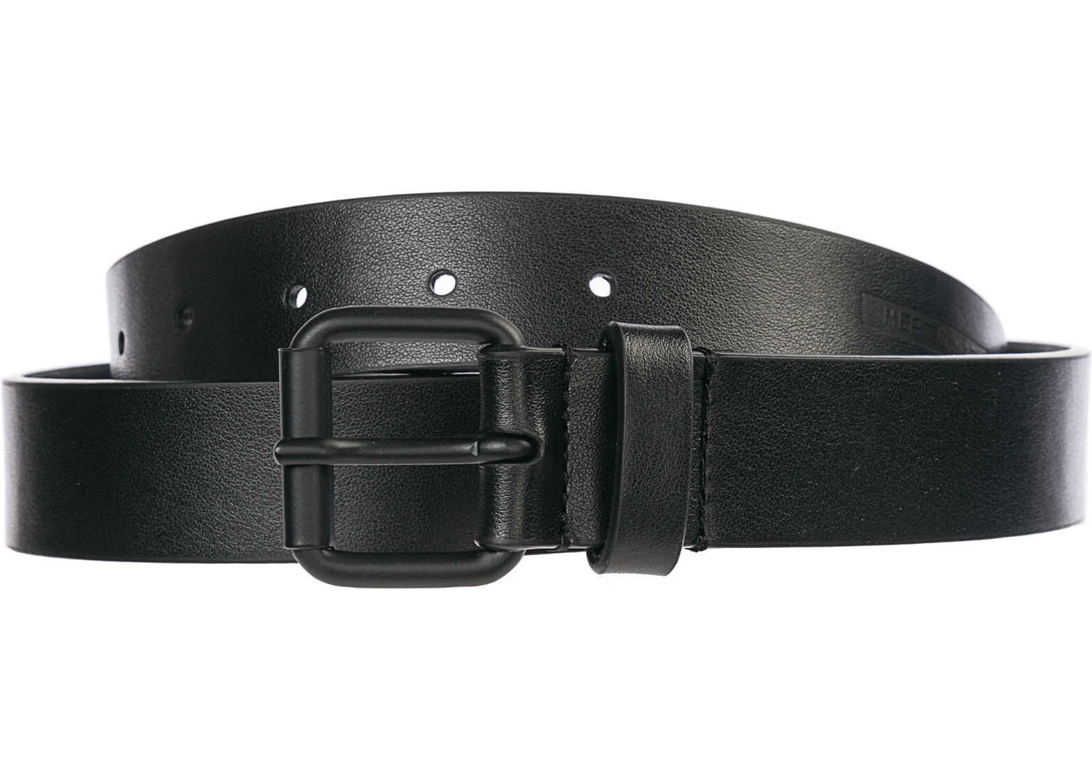 DSQUARED2 Genuine Leather Belt Mert & Marcus Black