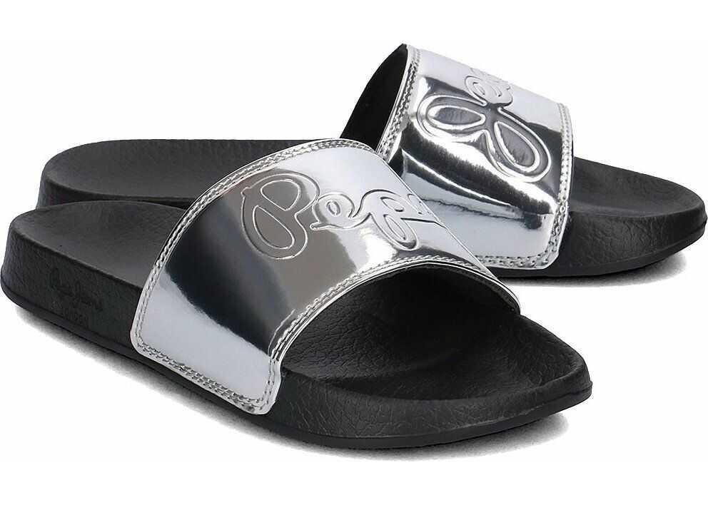 Pepe Jeans Flap Shine Srebrny