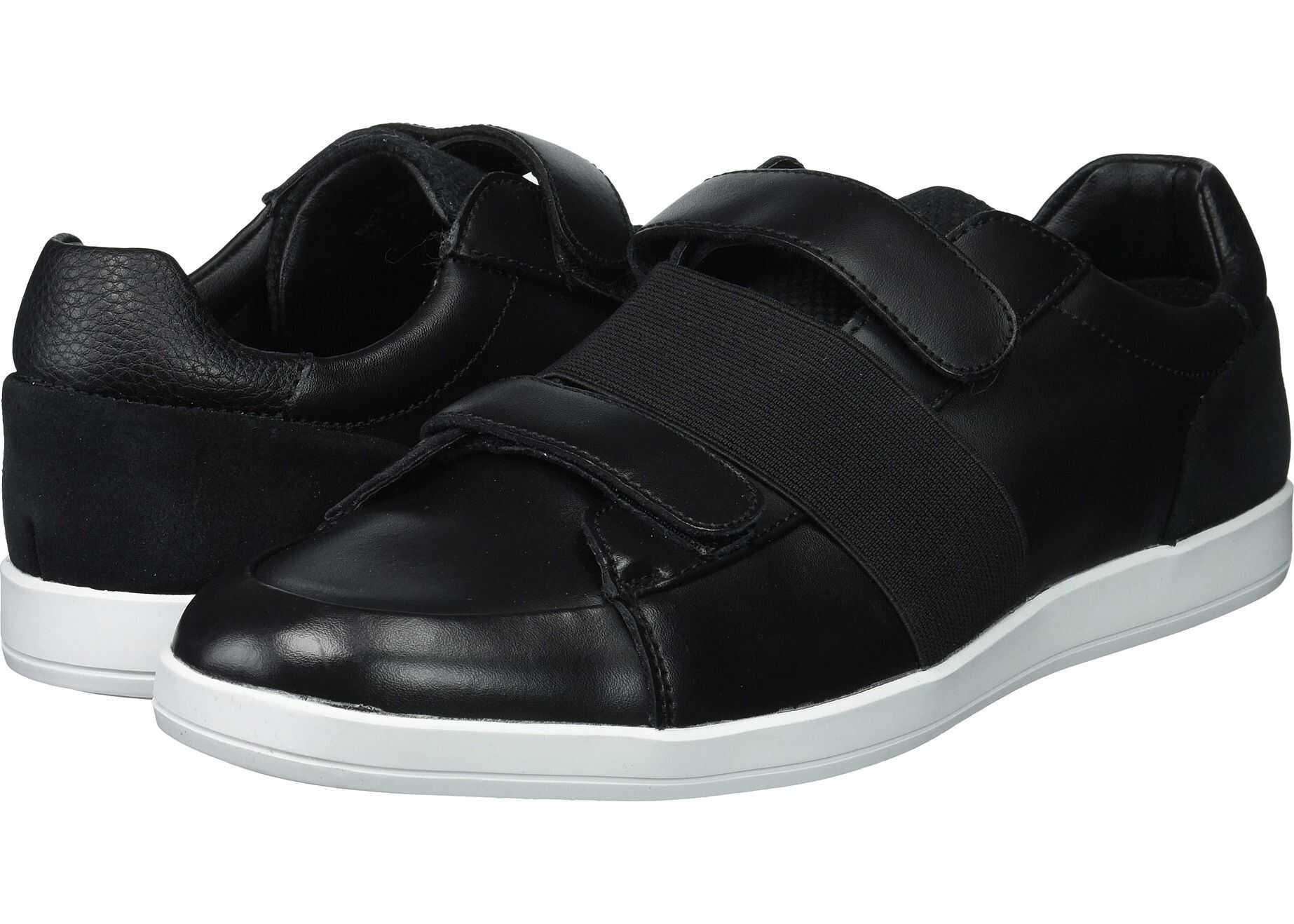 Calvin Klein Mace Black Brushed Leather