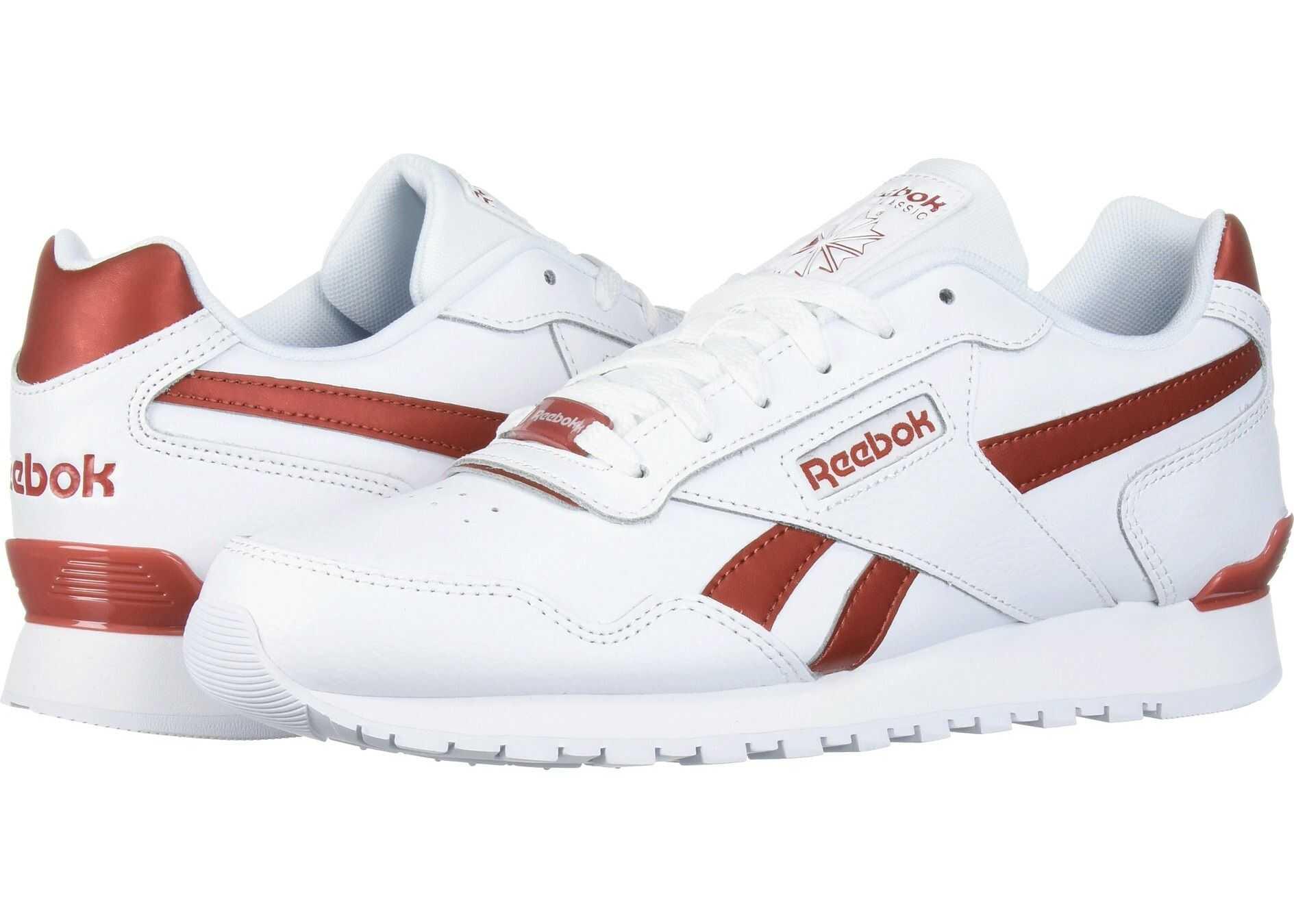 Reebok Classic Harman Run Clip Us-White/Mason Red