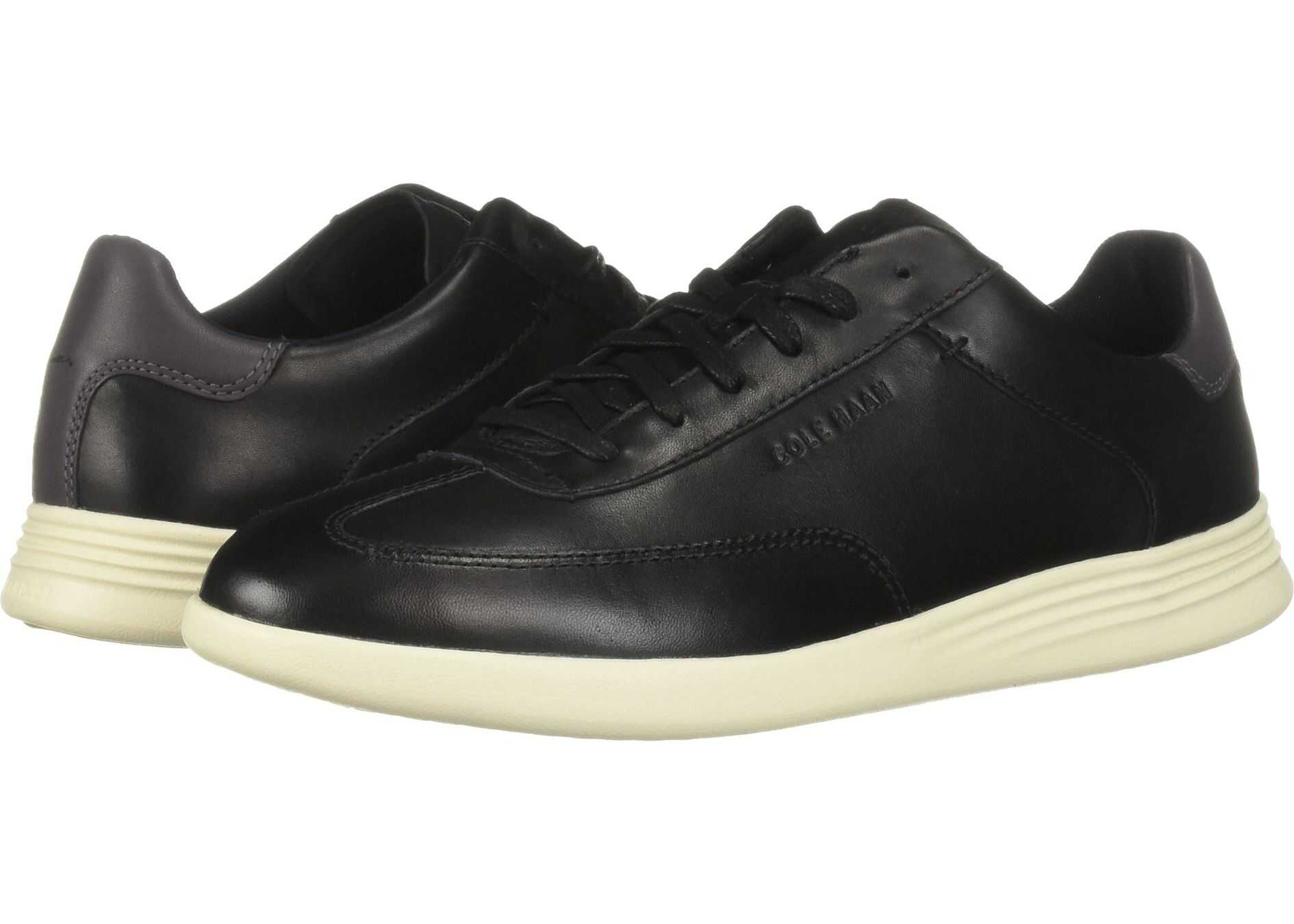Cole Haan Grand Crosscourt Turf Sneaker Black Leather