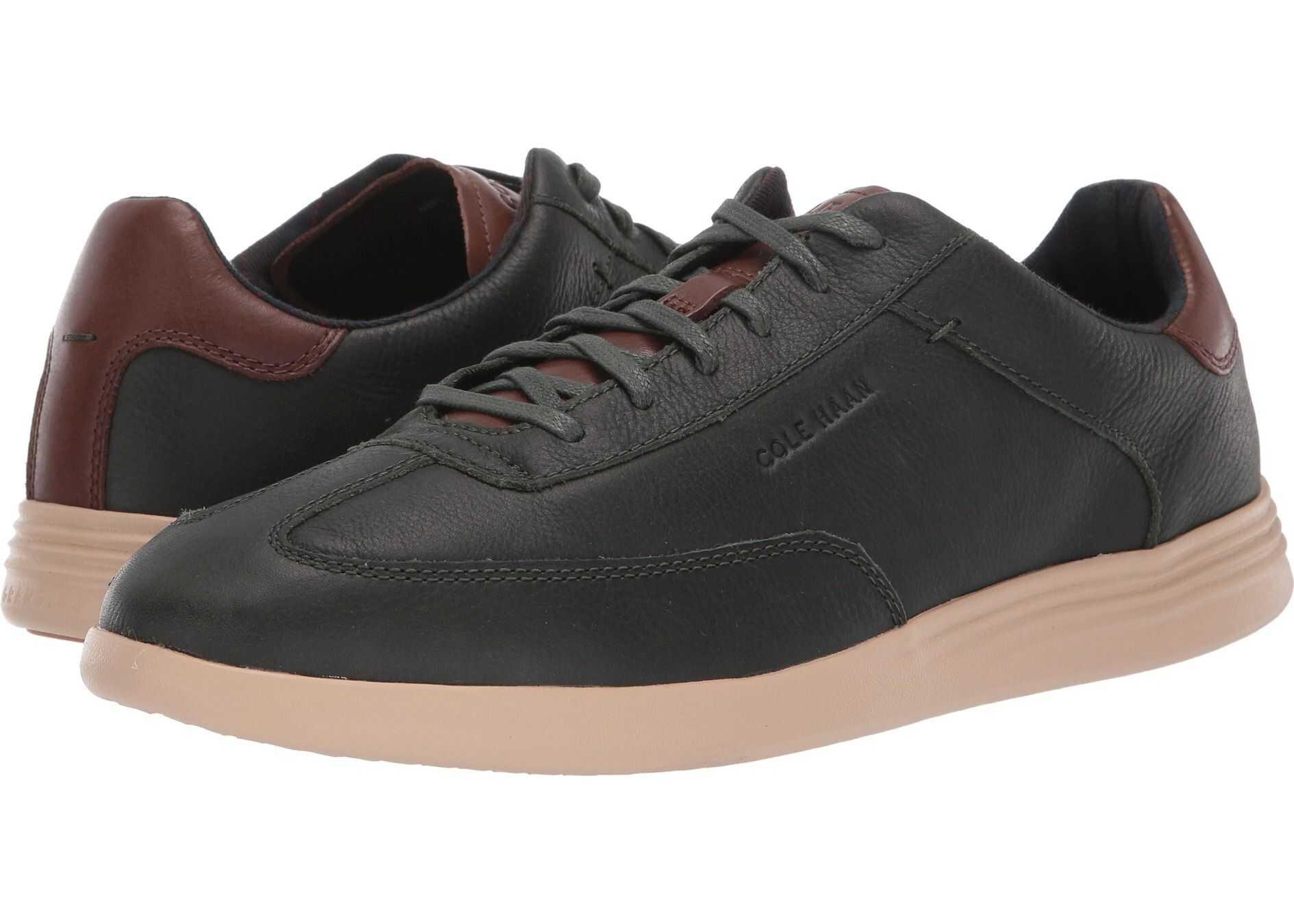 Cole Haan Grand Crosscourt Turf Sneaker Dark Olive Green