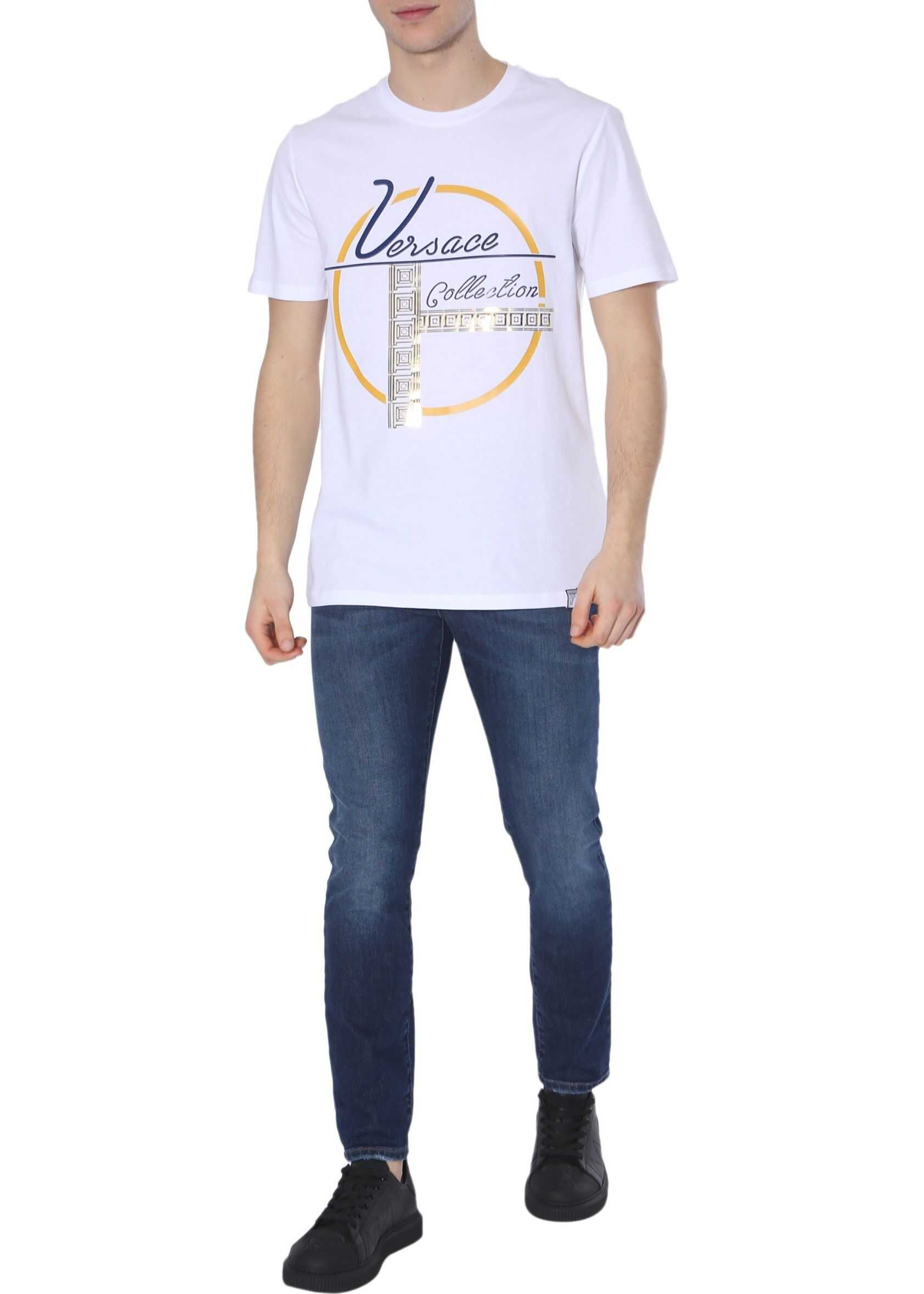 Versace Collection Round Neck T-Shirt WHITE