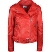 Geci de iarna Twin-set Simona Barbieri Biker Jacket
