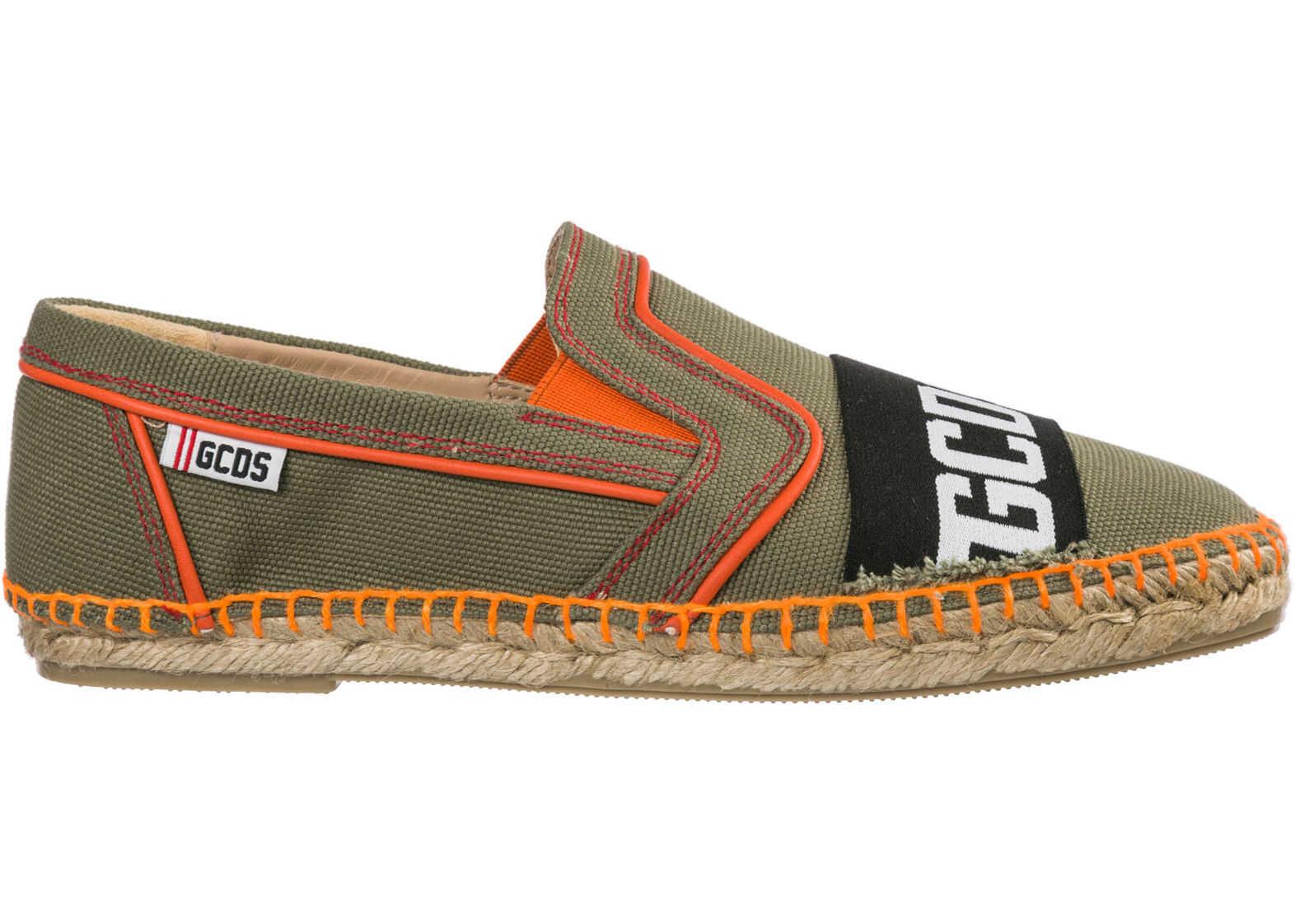 GCDS Shoes Guyana Green
