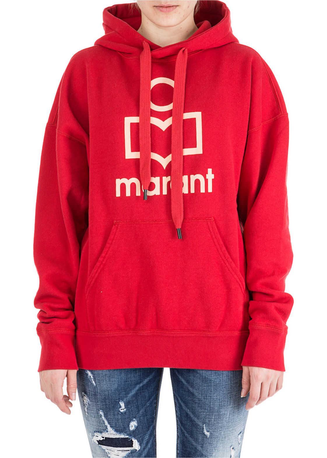 Isabel Marant Hood Hoodie Red