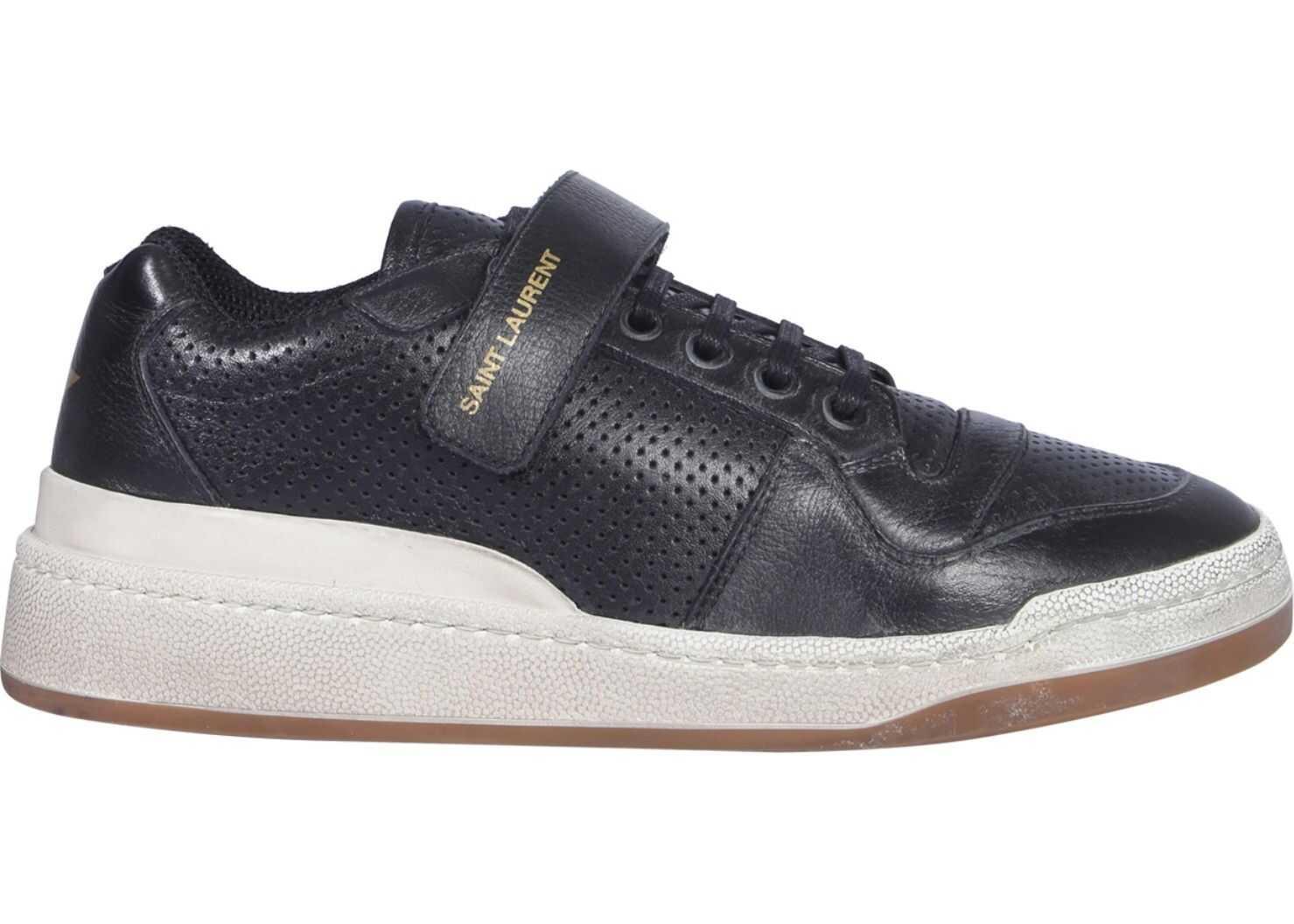 Saint Laurent Low Top Age Sneakers BLACK