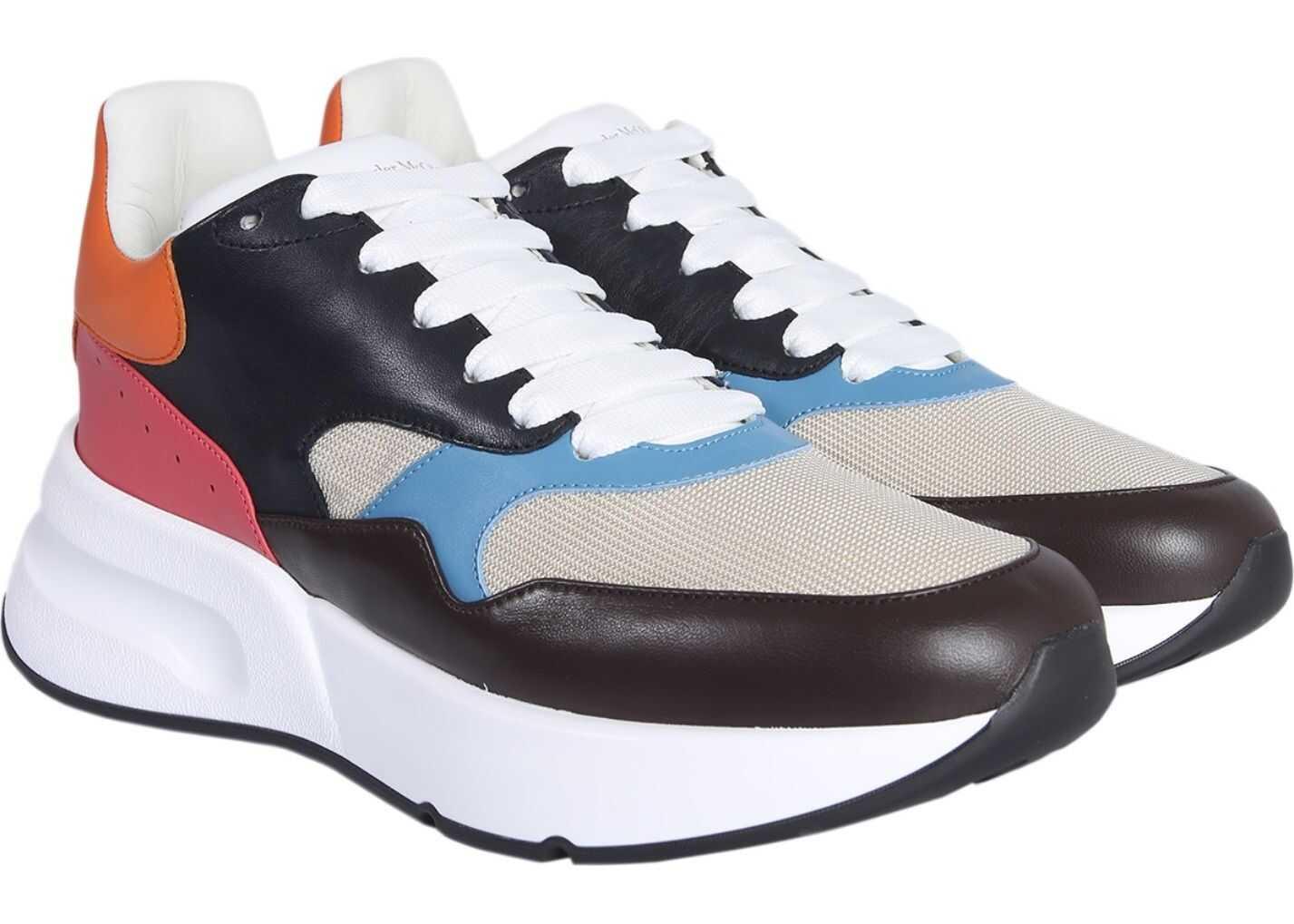 Alexander McQueen Oversize Runner Sneakers MULTICOLOUR