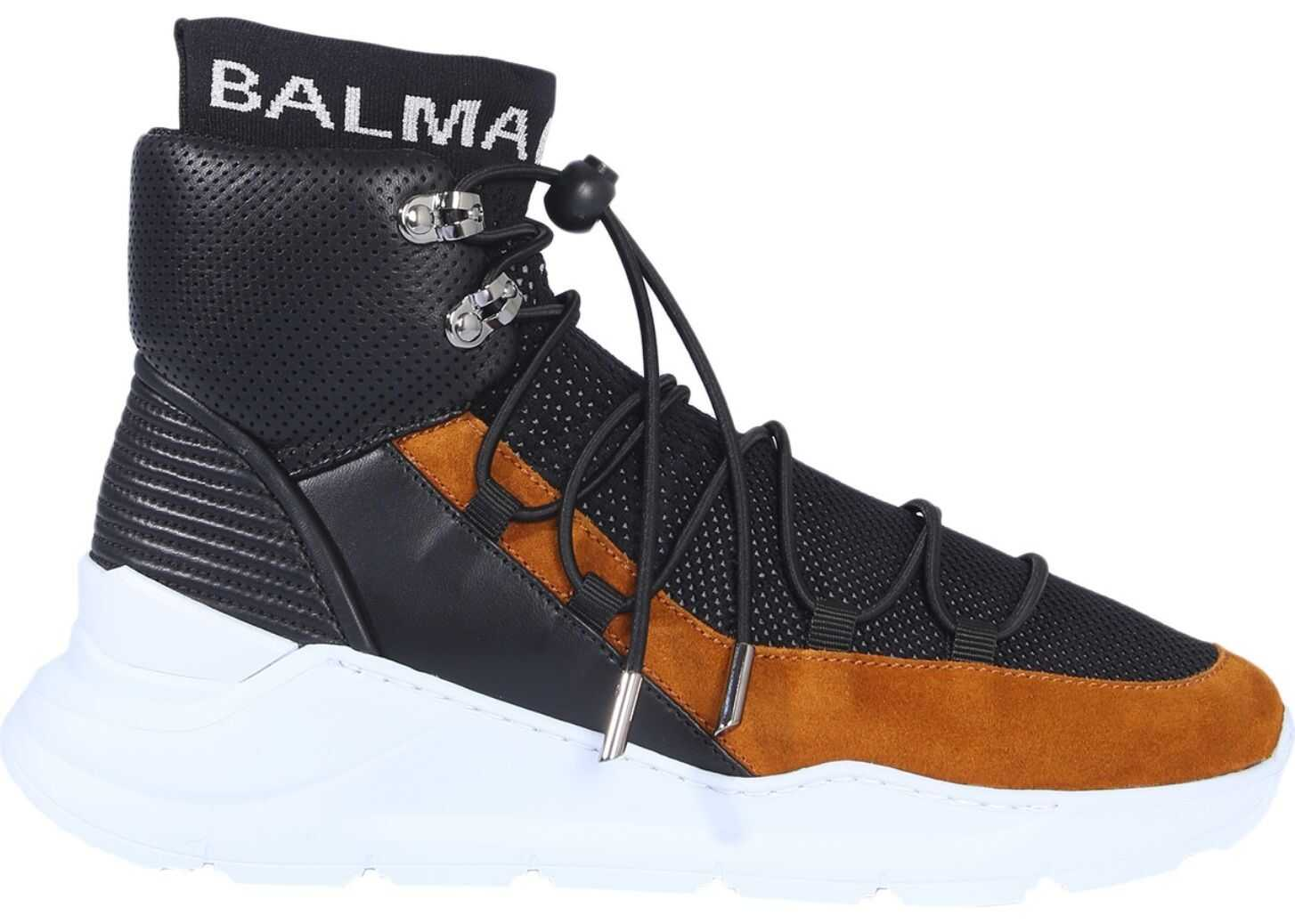 Balmain Mesh Sneakers BLACK