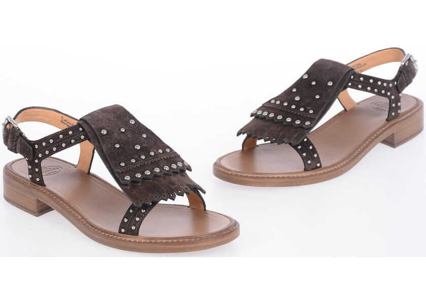 Sandale Dama Church's Studded Suede Sandals
