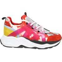 Tenisi & Adidasi Philipp Plein Flowers Runner Red Sneakers