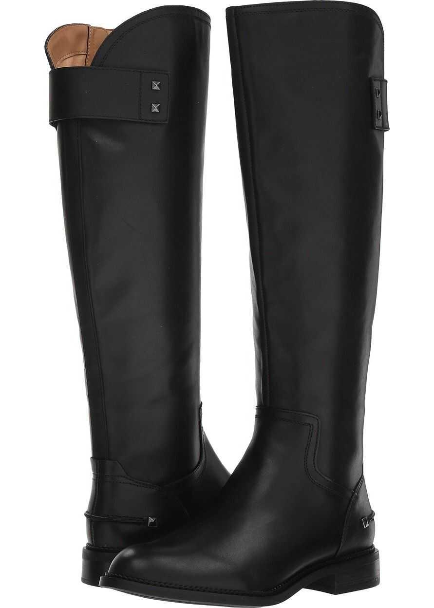 Franco Sarto Henrietta Black Bally Premium Leather