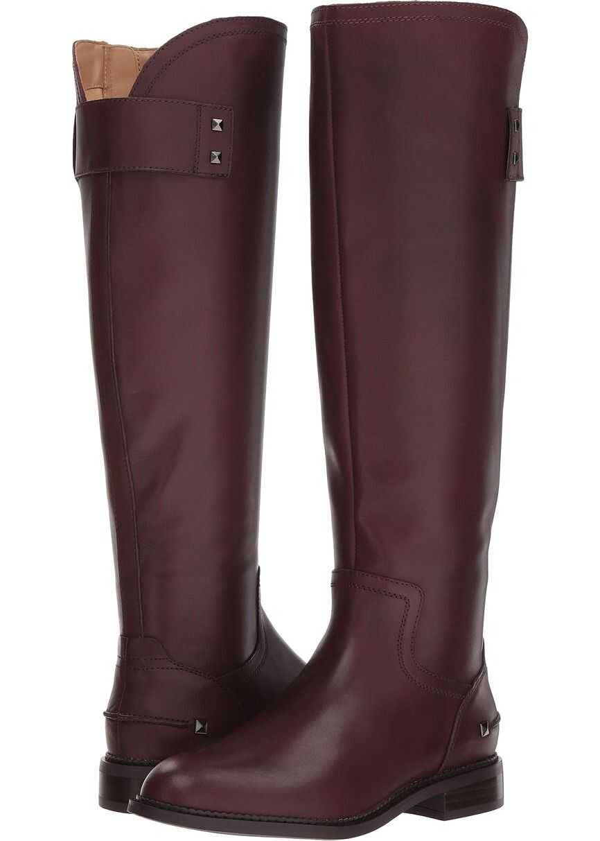 Franco Sarto Henrietta Dark Burgundy Bally Premium Leather