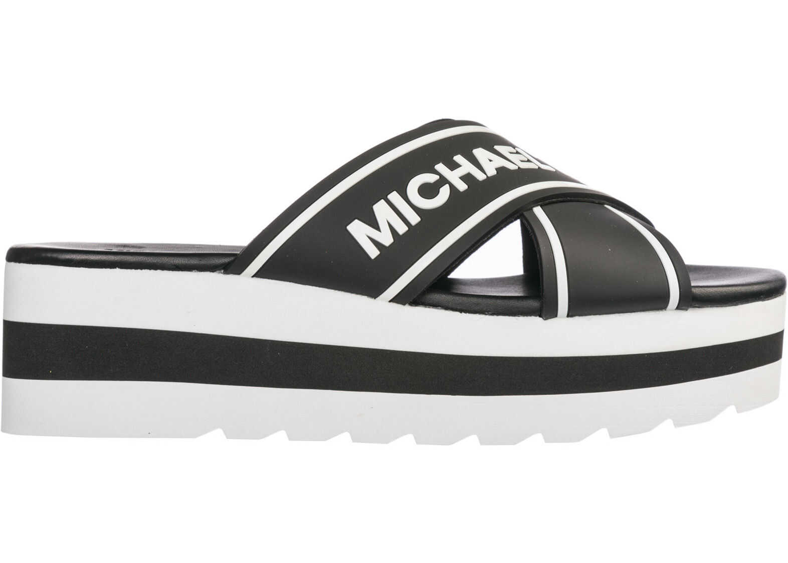 Michael Kors Slippers Sandals Black