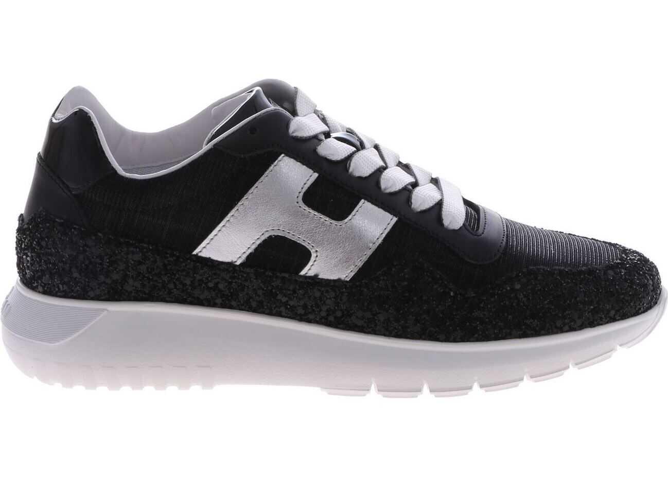 Hogan H371 Interactive 3 Sneakers In Black Black