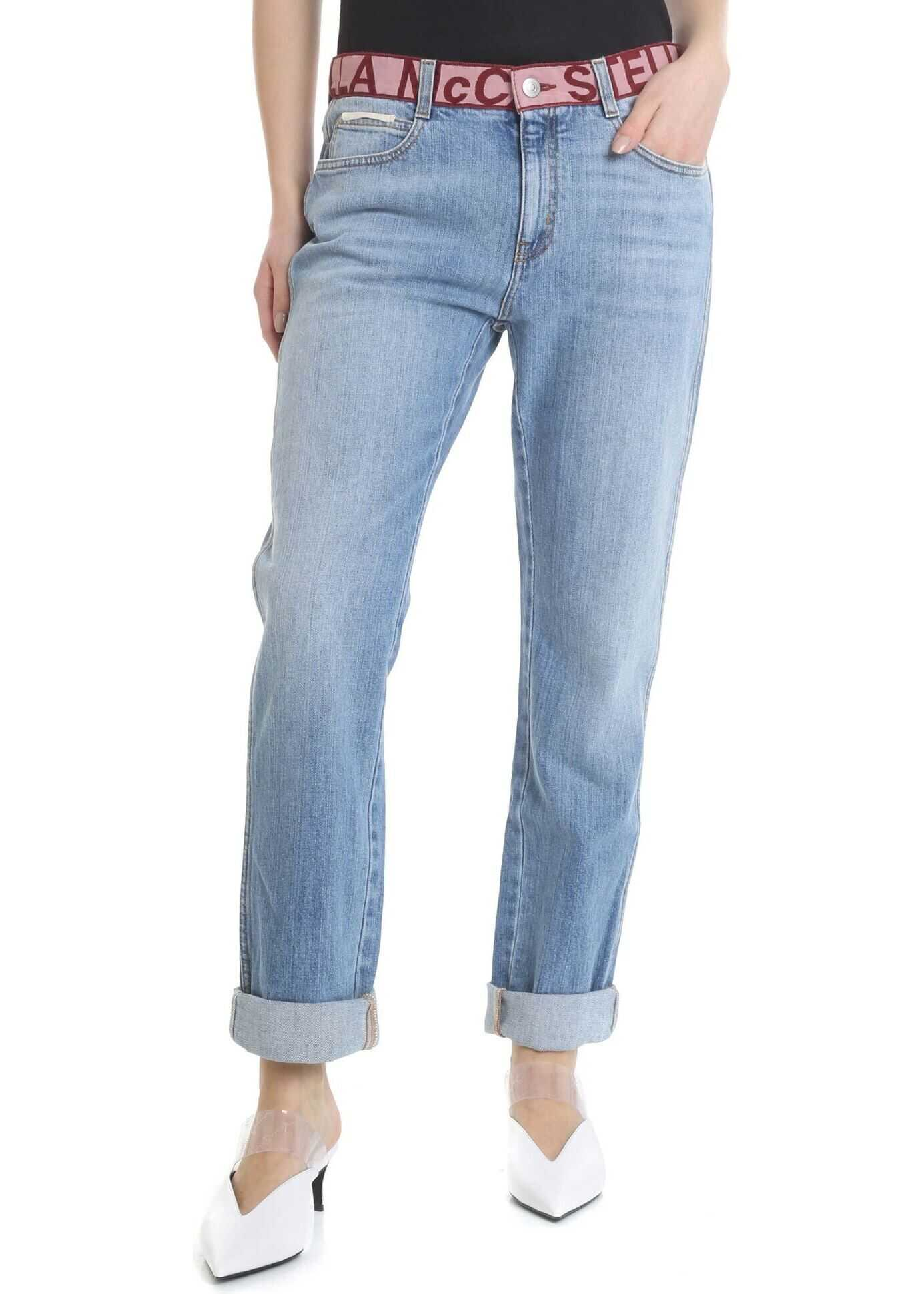adidas by Stella McCartney Stella Mccartney Boyfriend Jeans Light Blue