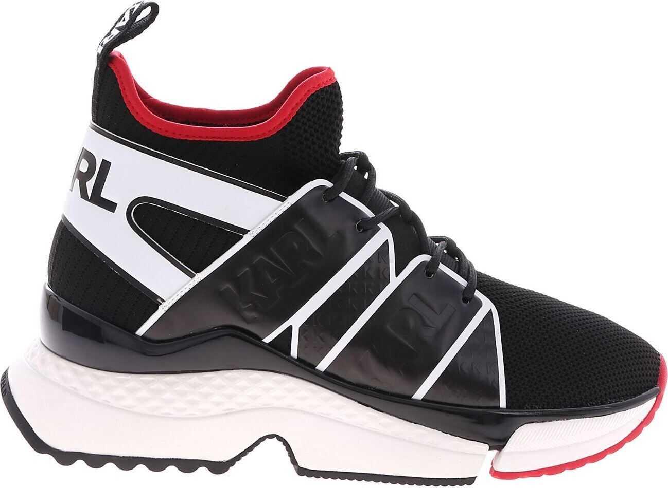 Karl Lagerfeld Aventur Black Sneakers Black