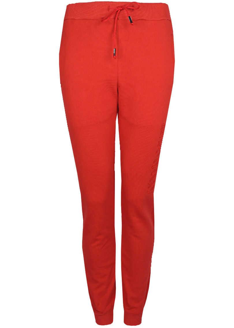 Roberto Cavalli Sweatpants HYY52P Czerwony