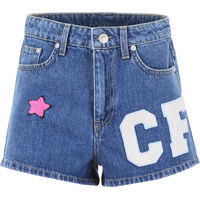 Pantaloni scurti Shorts With Patches Femei