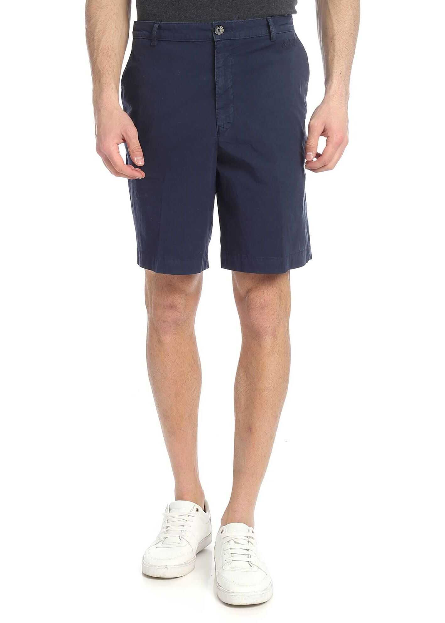 Casual Shorts In Light Blue
